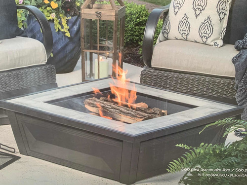 calentador chimenea para fogata jardin patio exterior 26 pul