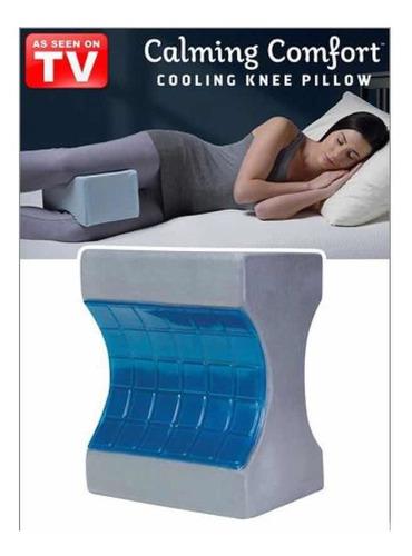 sharper image calming comfort cooling knee pillow 1 099 00