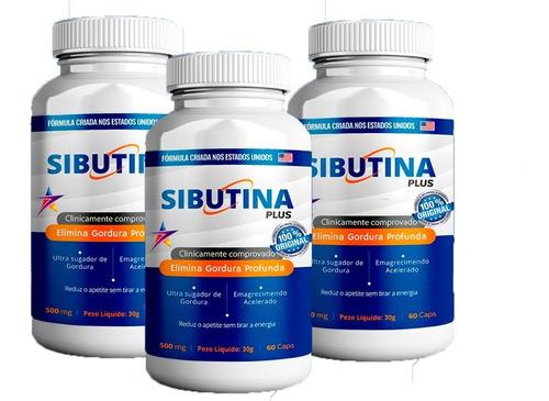 1 Sibutina Plus 60 Cáps Original Revendedor Oficial Promoção | Mercado Livre