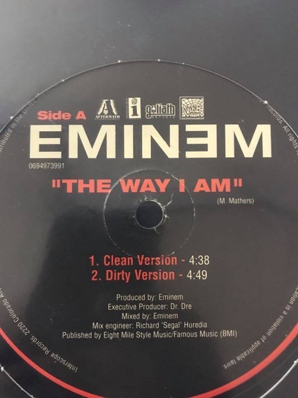 Eminem The Way I Am Clean : eminem, clean, MercadoLibre.com.mx