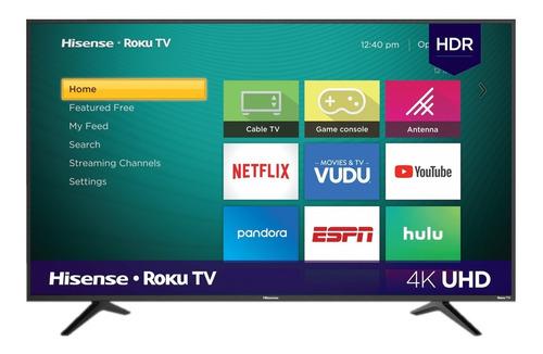 Pantalla Smart Tv Hisense 50 Pulgadas Roku Tv 4k Hdr 50r6e | Mercado Libre