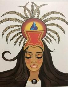 Kisscrown Princesa Azteca Set Maquillaje Paleta Sombras Ojos | BLUPOINT