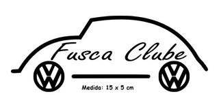 Adesivo Fusca Fusca Clube no Mercado Livre Brasil