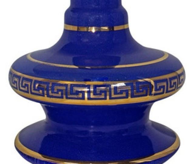 Jarro Para Narguile Shisha Glass Nix Azul 13cm