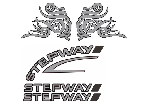 Kit Completo De Adesivo Renault Sandero Stepway 08 09 10