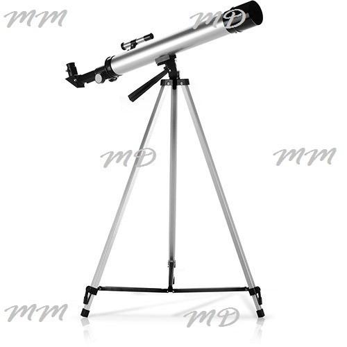 Telescópio Astronômico Refrator Tripod Tripe Lentes 50 X