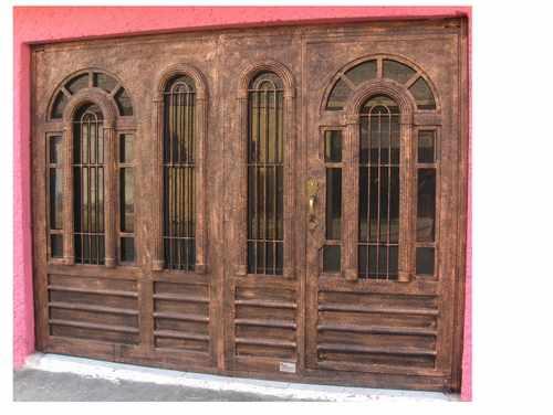 Puerta Arcolumna De Herreria Rustica Fina Precio M2