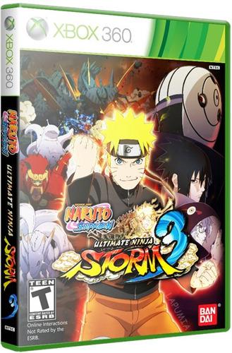Naruto Shippuden Ultimate Ninja Storm 3 Full Burst Xbox