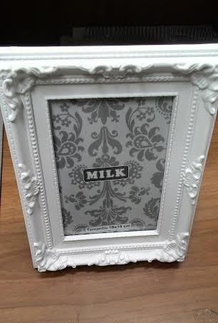 Porta Retrato 10x15 Retr Vintage Branco Moldura  R 15
