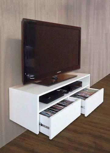 Mueble Para Tv Melamina Flotante  S 29900 en Mercado Libre