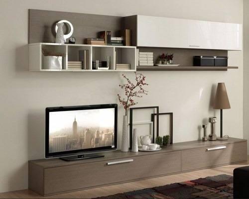 Mesa Tv Modular Rack Lcd Vajillero Organizador Mueble