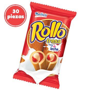 30pack Rollo Fresa Marinela Ecramex   39500 en Mercado