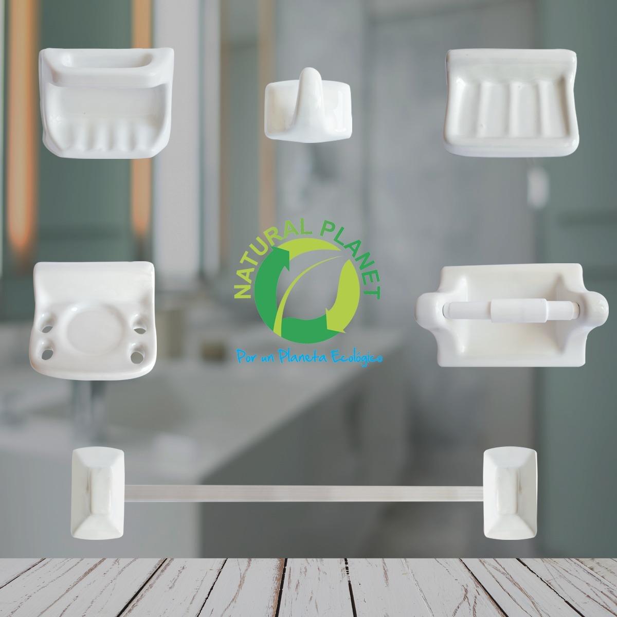 Accesorios Para Bao Cermica 9 Piezas Blanco Mejor