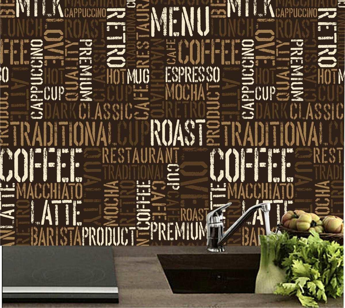 Adesivo Decorao Parede Azulejo Cozinha Caf Bar Sala M21