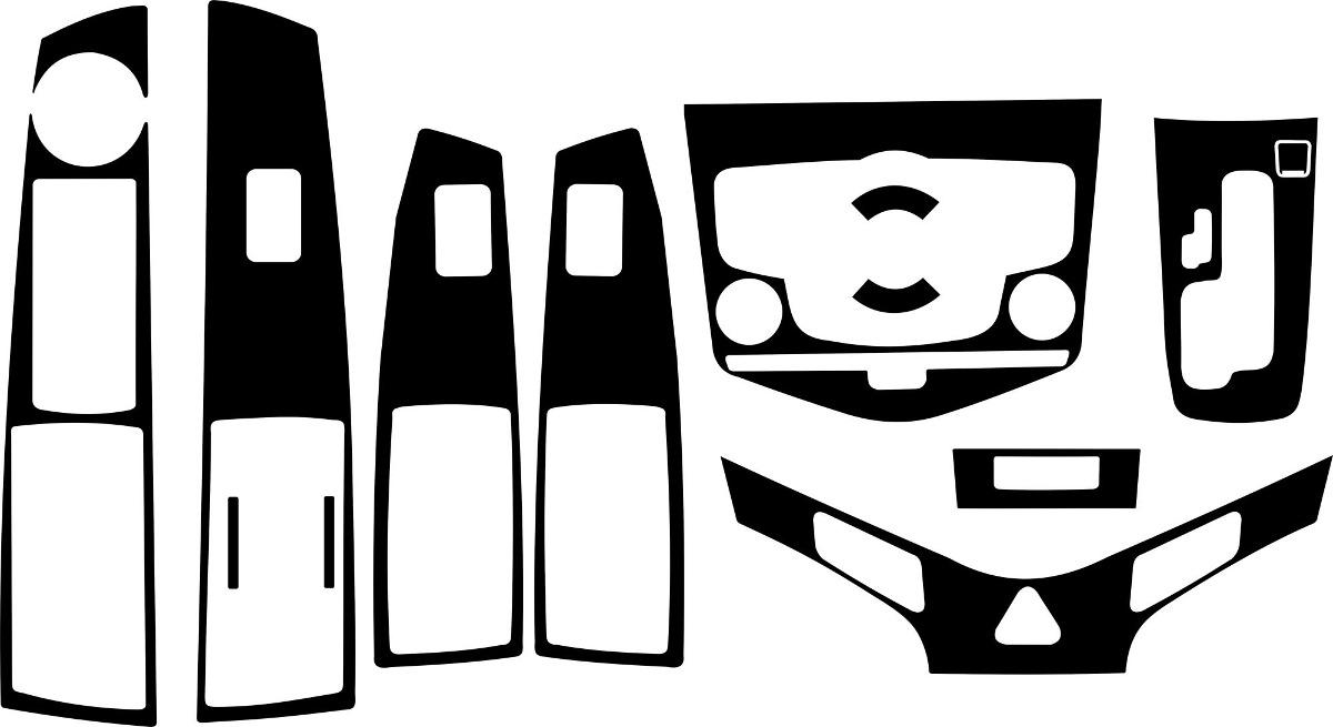Adesivo Painel Fibra De Carbono Cruze 11 12 13 14