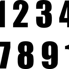 0 A 10 Lace Sensor Humbucker Wiring Diagram Adesivo Numeros Numeral Organizador 7cm Recorte R 11 95 Carregando Zoom