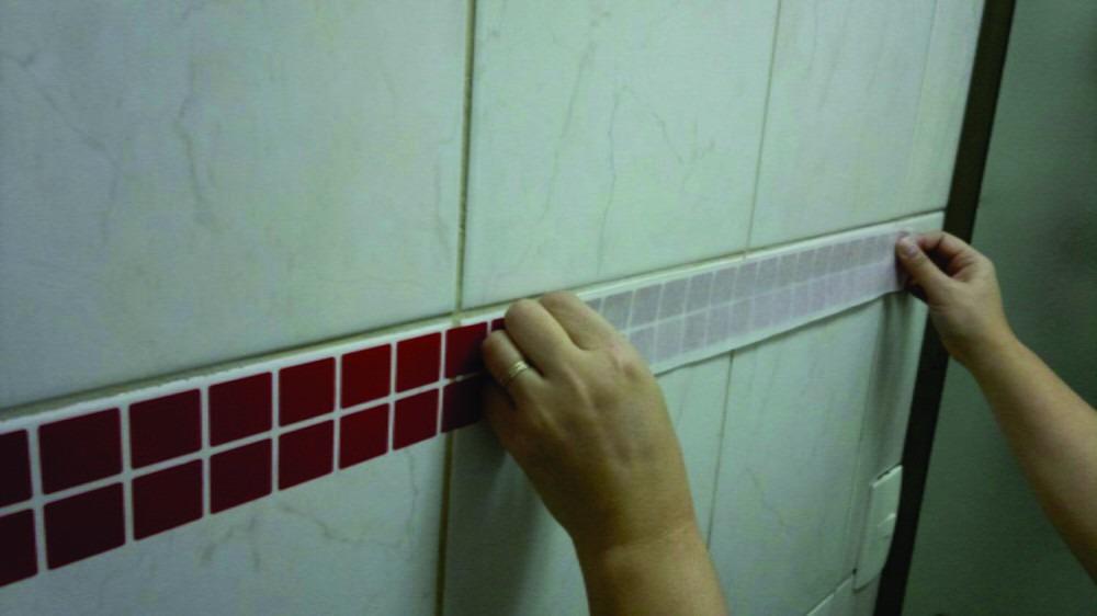 Adesivo Pastilha Banheiro Cozinha Ambientes  R100  R 100 em Mercado Livre