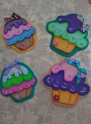 Adornos Decorativos En Foami Para Neveras  Bs 45000 en Mercado Libre