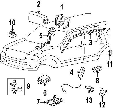 Airbag-sensor De Posición Asiento Explorer Mustang Fusion