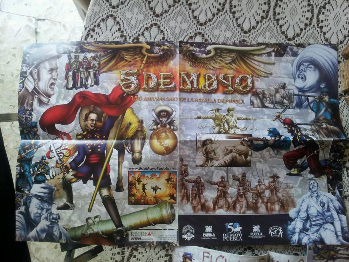 lbum De Estampas 5 De Mayo Batalla De Puebla   15000