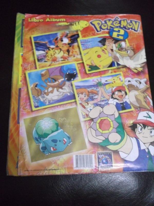 Album Pokemon 2 De Editorial Navarrete Casi Lleno - 100