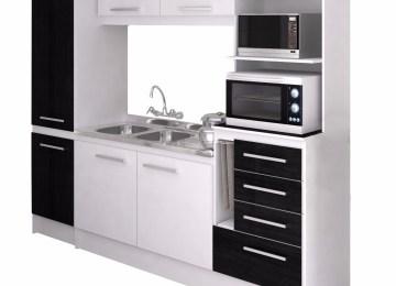 Muebles Cocina Negro | Barra Americana Cocina Cocina Con Barra ...