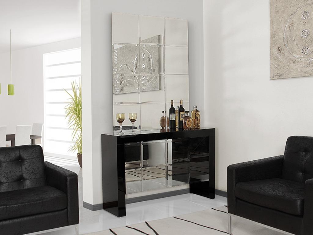 Aparador Com Vidro Preto  Promoo  R 51000 em Mercado Livre