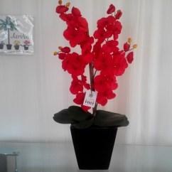 Sofa Cama Usados Distrito Federal Big Size Cushion Arreglo Floral Con Orquidea - $ 850.00 En Mercado Libre