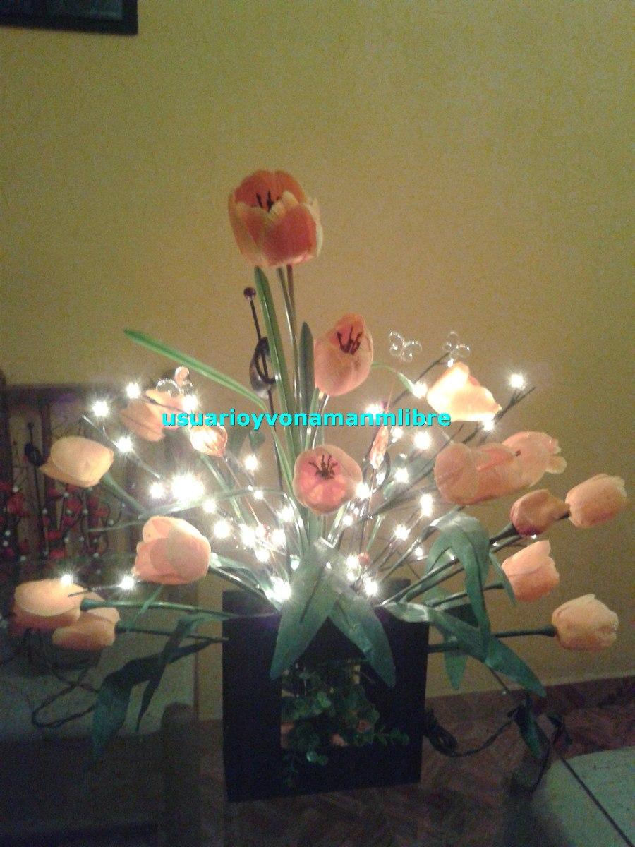 Arreglos De Flores Y Ramas Con Luz 60 Luces   62500 en