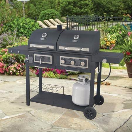 Asador De Carbn Y Gas Backyard Grill   699900 en