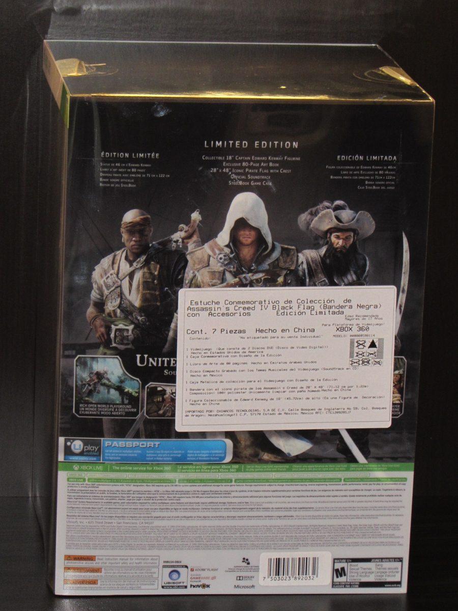Assassins Creed Iv Black Flag Xbox 360 140000 En Mercado Libre