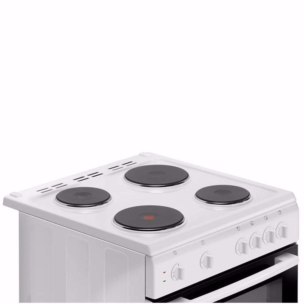 Cocina Atma Electrica 60cm Cce3120x Acero Inox Horno