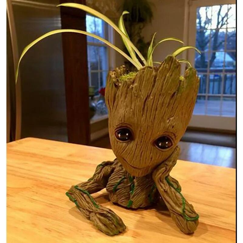 Baby Groot Juguete Pvc Guardianes De La Galaxiamaceta