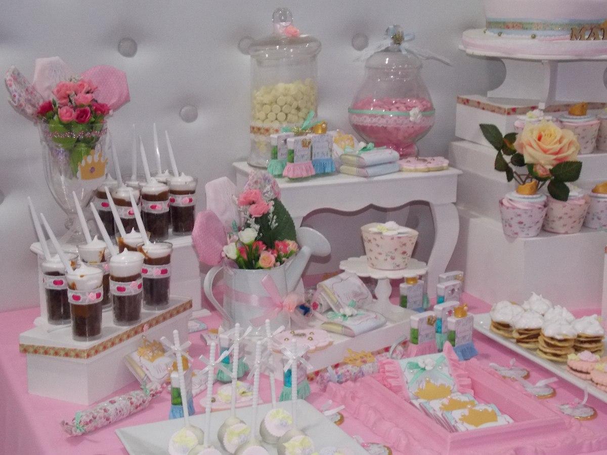 Baby Shower Mesa Dulce Tematica Cupcakes Decoracion
