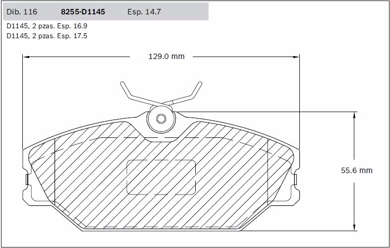 Balatas Delanteras Bosch Renault Clio Sport Megane I