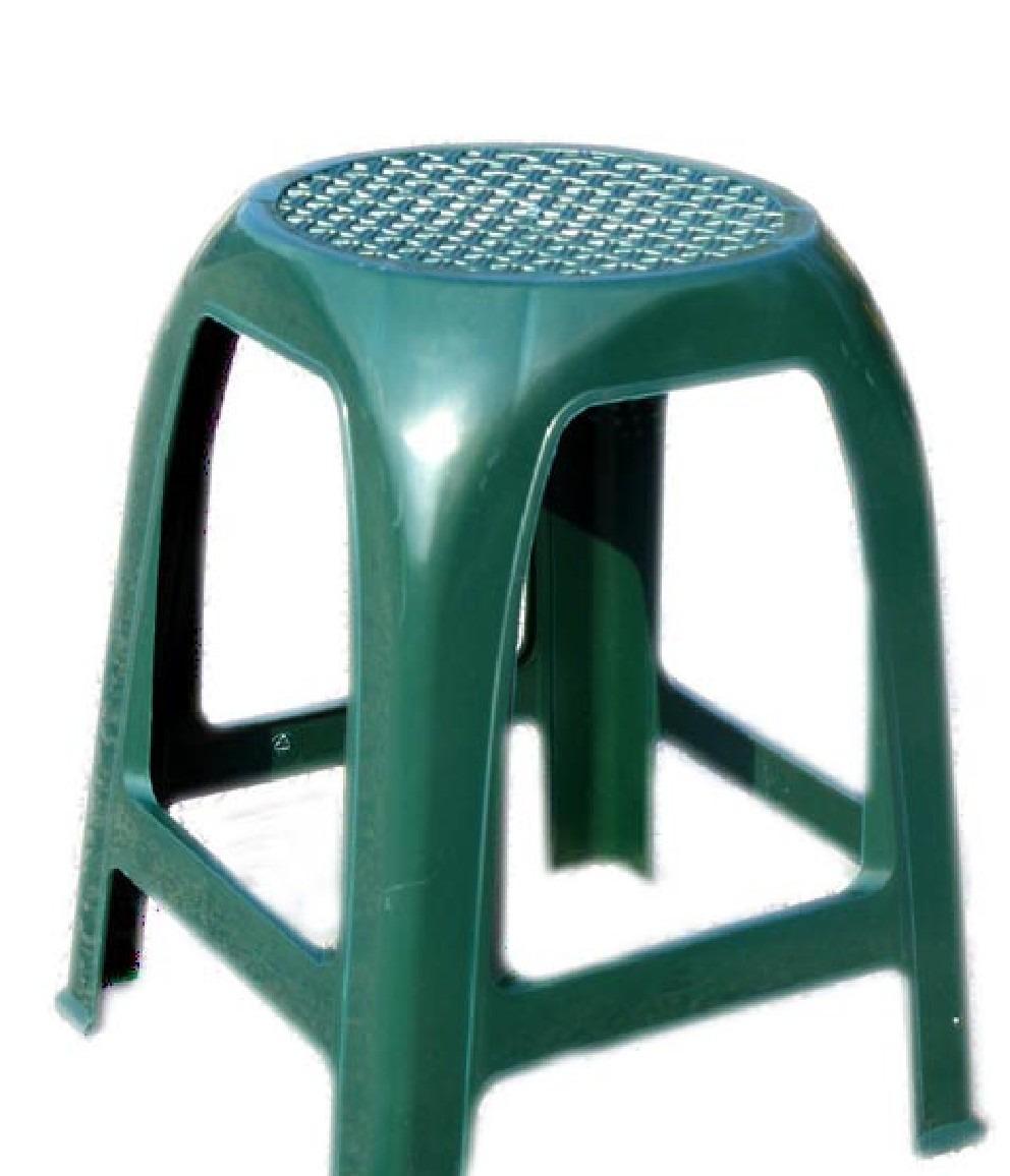Banco De Plastico Summer Verde   7900 en Mercado Libre