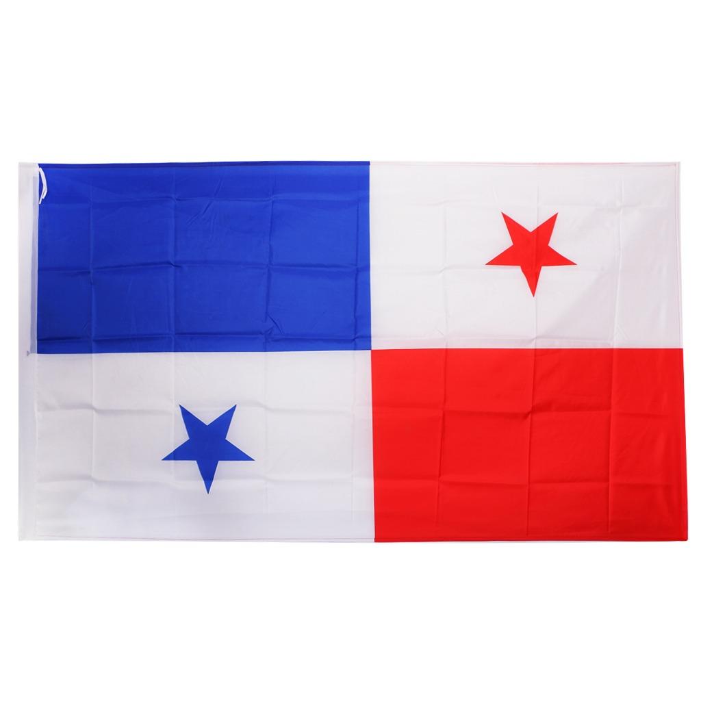 Bandera De Bandera De Panam De 5x3  Ft Para Decoracin
