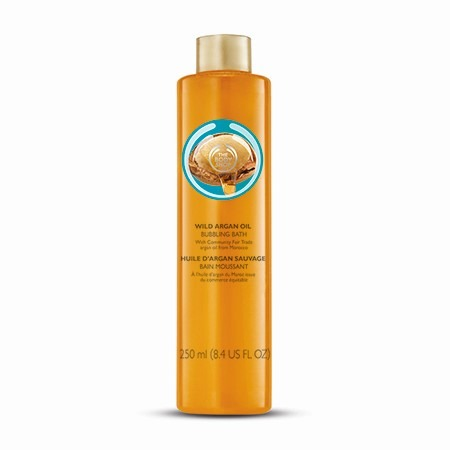 Bao De Burbujas De Aceite De Argan The Body Shop   365