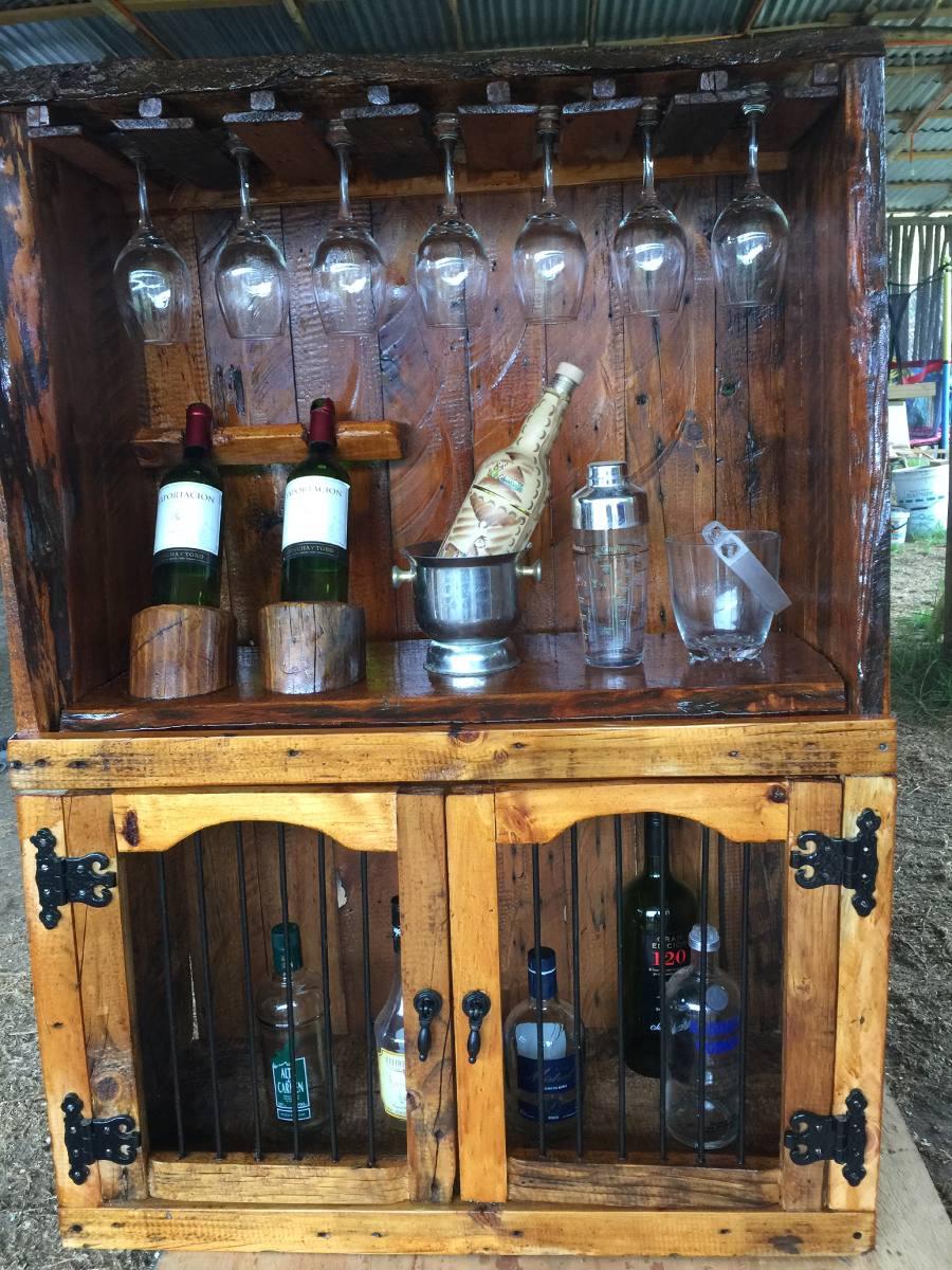 Bar Rustico De Madera   120000 en Mercado Libre
