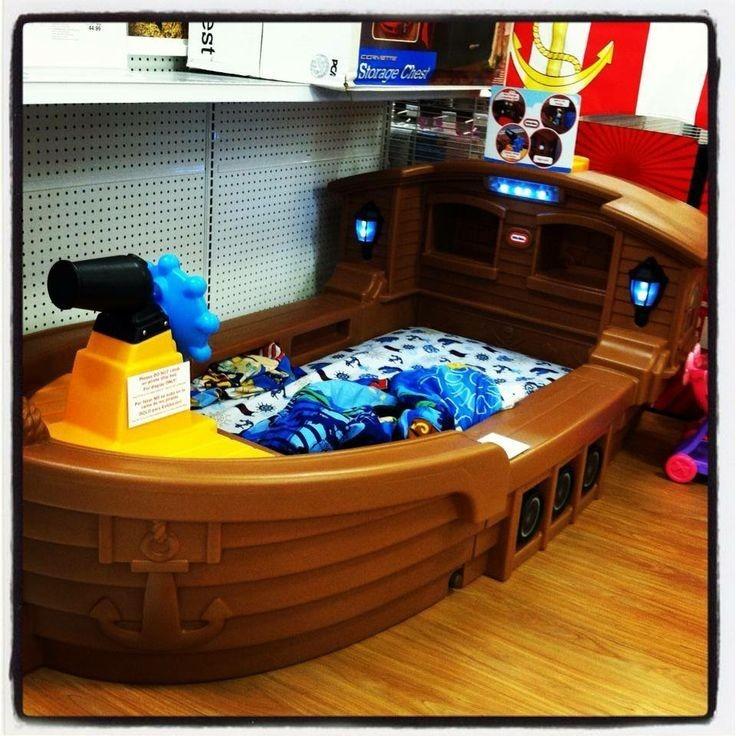 Barco Cama Pirata Para Nios Exclusivoimportado   3899