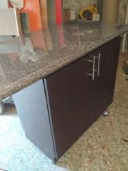 COCINAS ALDEN Barra Desayunador Isla Con Mueble Para Cocina $ 300 00