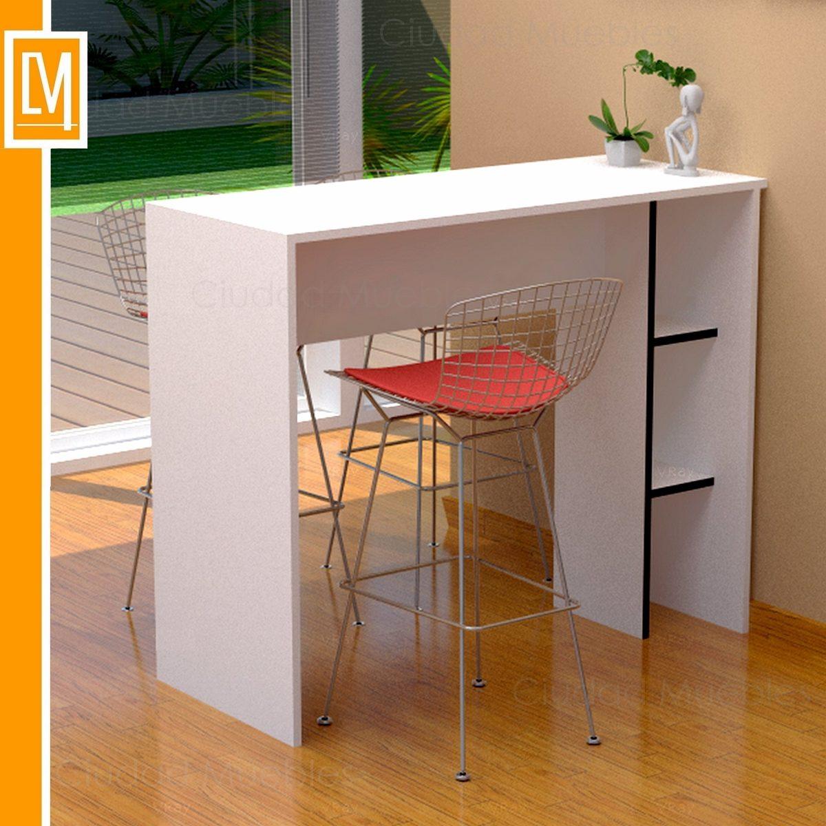 Barra Desayunador  Mueble De Cocina 50cm De Ancho Oferta
