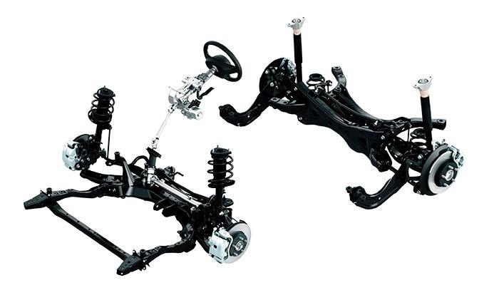 Bastidor Delantero Y Trasero En Partes Mazda 3 , Cx5 2016