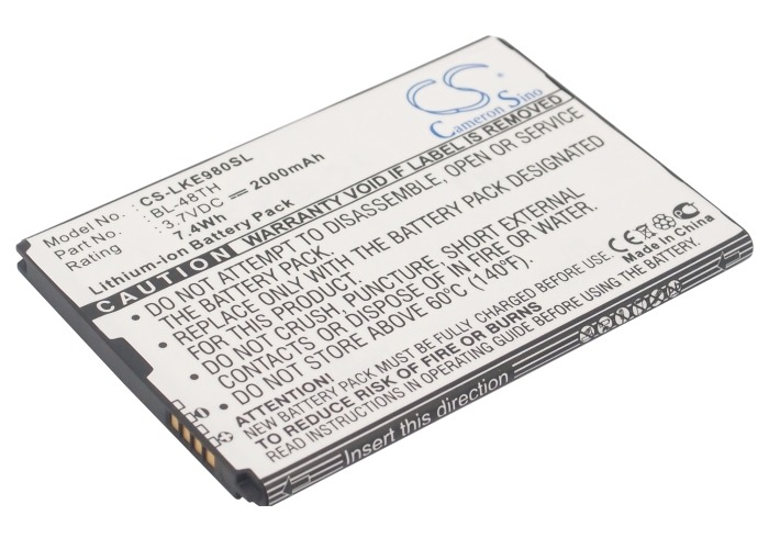 Bateria Pila Lg E940 E977 E980 Optimus G Pro Bl-48th Op4