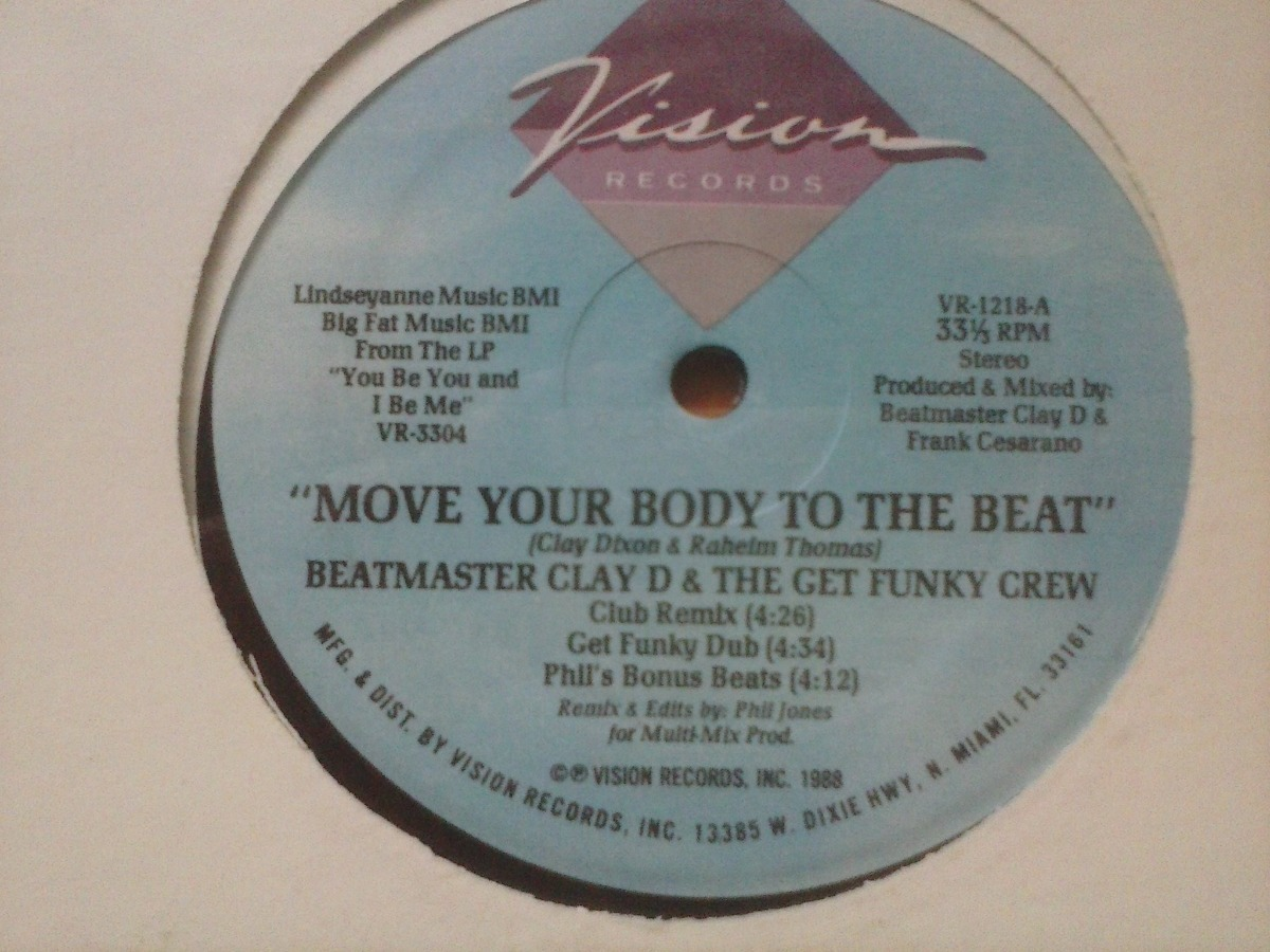 Royalty Free Move Your Body To The Beat