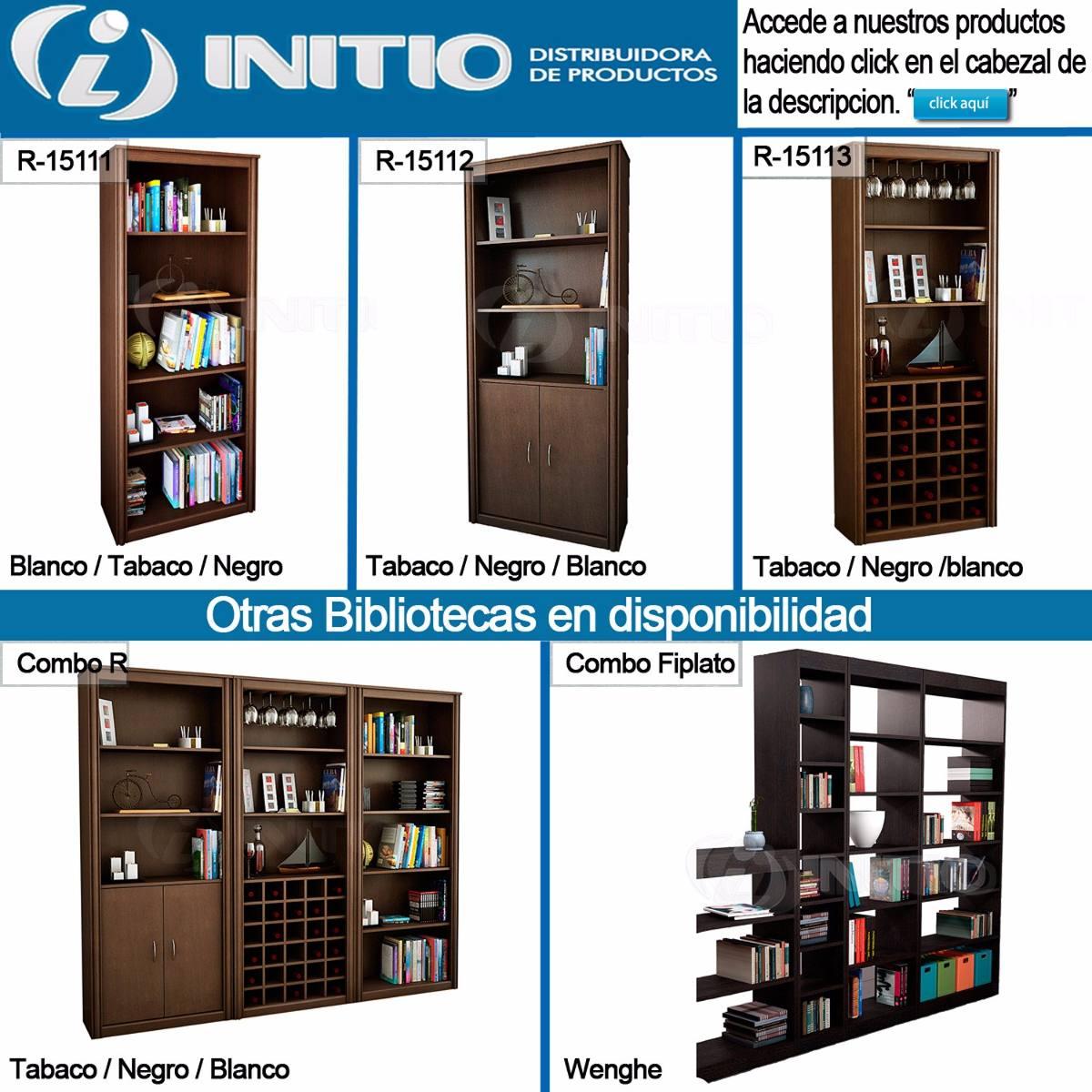 Biblioteca Con Estantes Mueble Para Libros Libreria
