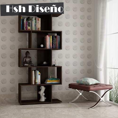 Biblioteca Mueble Minimalista Moderno Living Decoracin