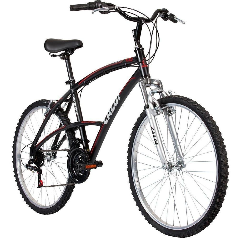Bicicleta Caloi 100 Sport Masculina Aro 26 21 Marchas