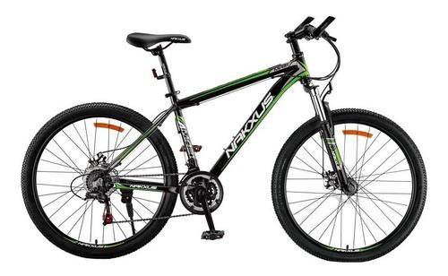 Bicicleta Nakxus 26ma21 R26 21v Shimano Freno Disc Horq