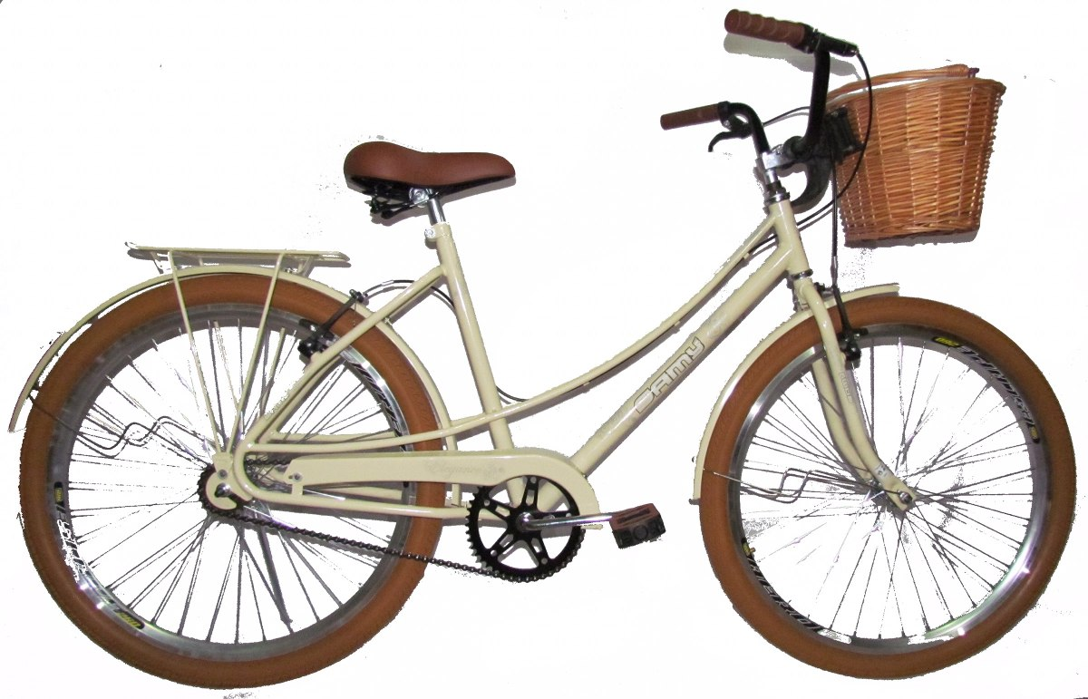 Bicicleta Retro Vintage Bege Mod Ceci Lindissima Promoo